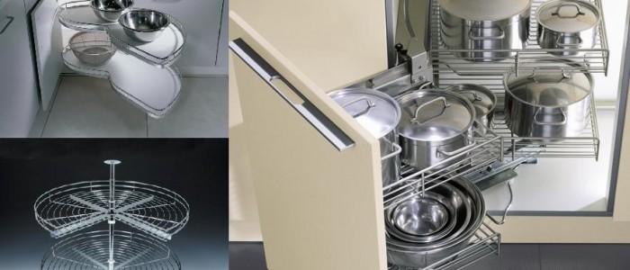Kutni sustavi za kuhinjske elemente